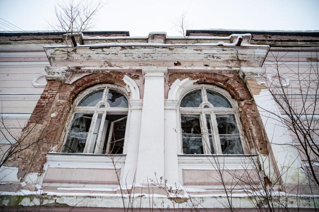 Niepruszewo Pałac i zabudowania folwarczne i gorzelnia