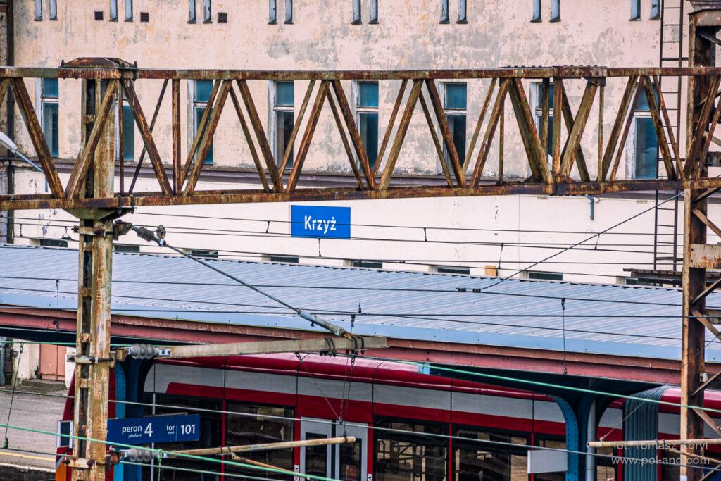 KRZYŻ WIELKOPOLSKI stacja kolejowa